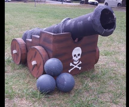 Shootable Pirate Cannon!