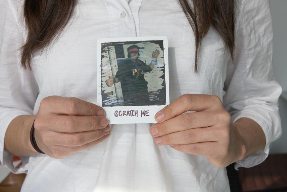 DIY: Make a Scratch-Off Photo Valentine