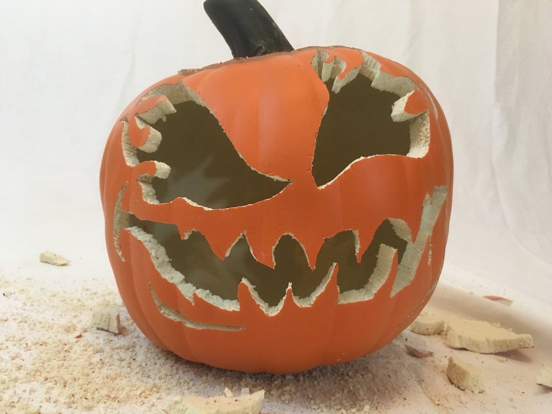Carving Foam Pumpkins - Special Issues
