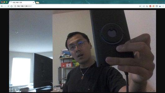 Stream the RealSense Camera