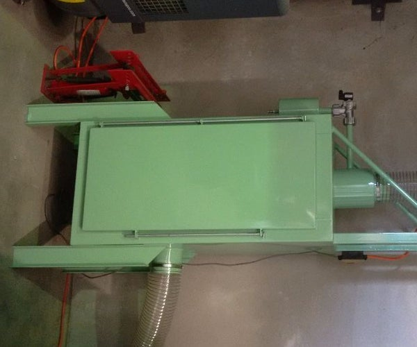 Downdraft Plasma Cutting and Grinding  Table
