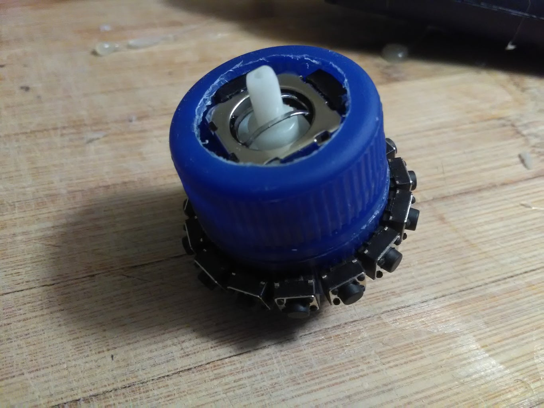 Assembling Top and Bottom Cap