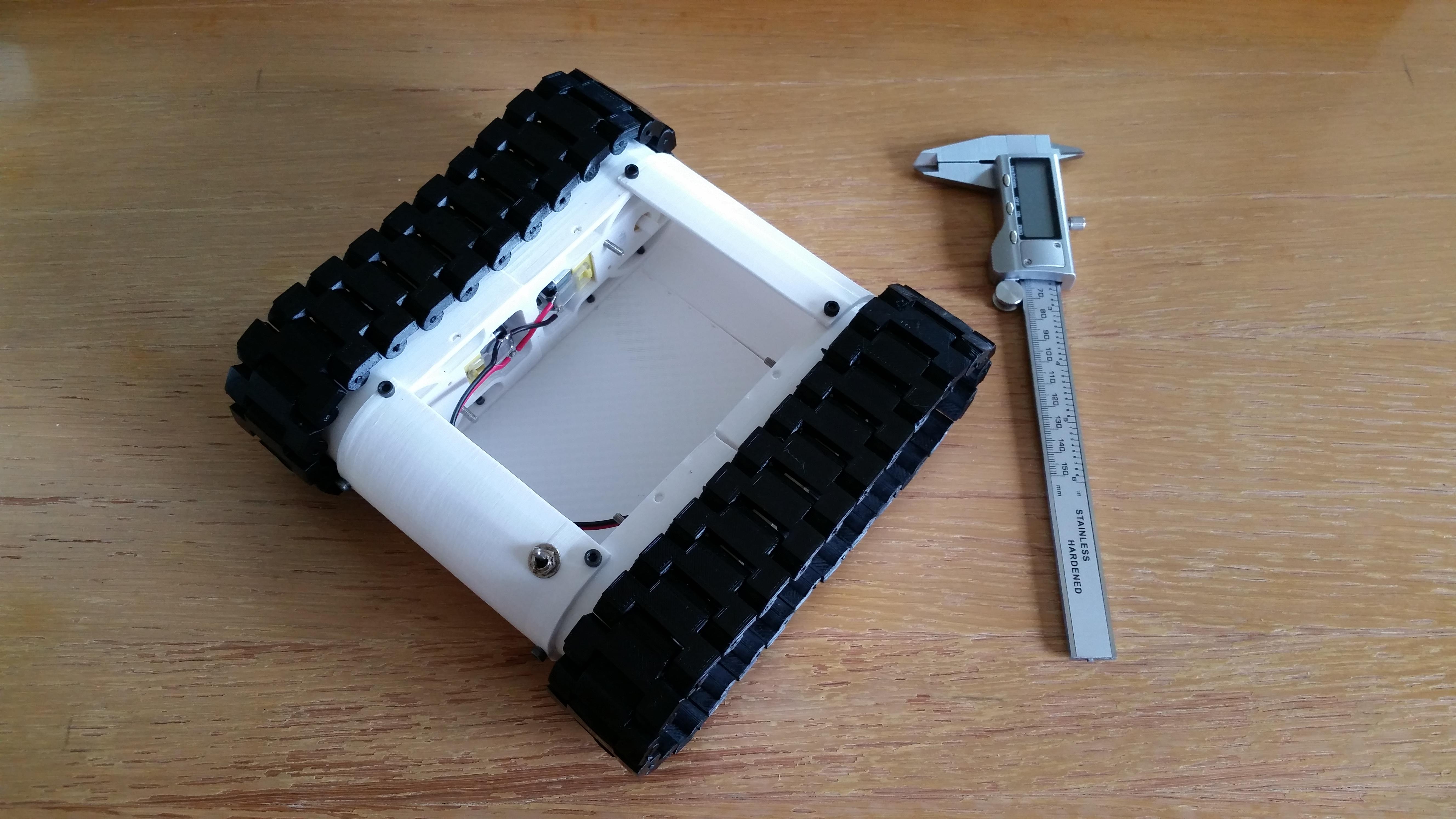 3D Printable Rover Platform