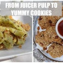 FROM JUICER PULP TO YUMMY COOKIES!