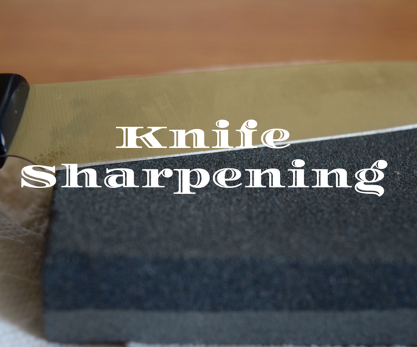 How to Sharpen Knives