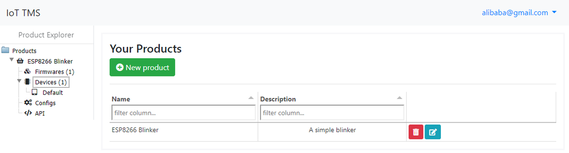 Step 1 : a Simple Blinker With OTA Update