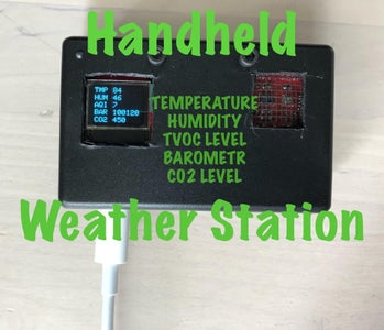 Handheld Weather Station