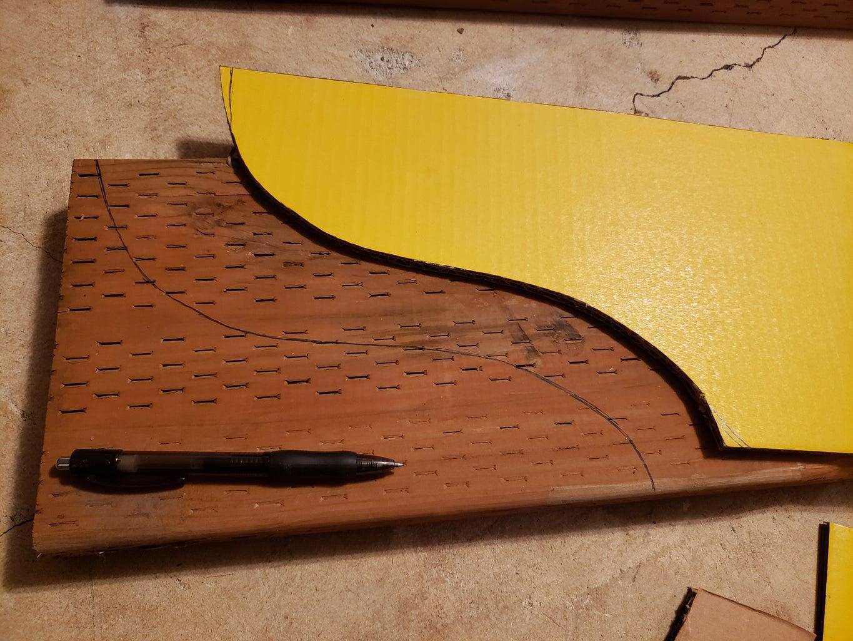 Arch Arbor Front Board Design