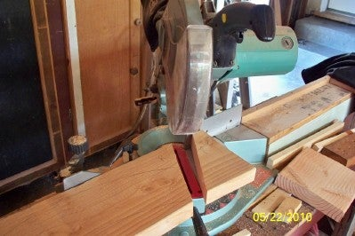 Cut Form Out With Bandsaw