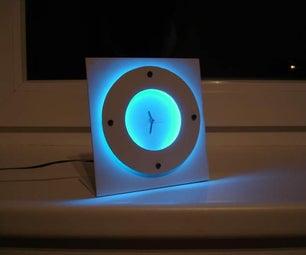 Custom Illuminated Clock