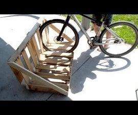 How to Make a Pallet Bike Rack