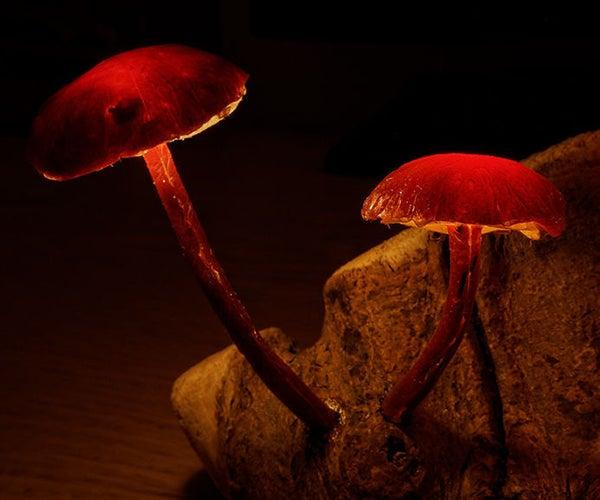 Enchanted Forest Mushroom Lights
