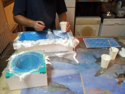 Pulling Molds for Detailing and Frame Making