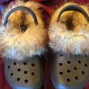 Fur Lined Crocs