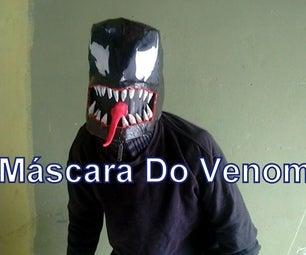 How to Make Venom Mask (Spiderman)
