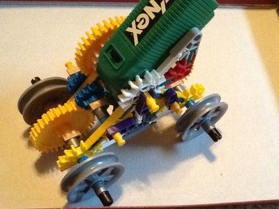 K'nex Rail Cart