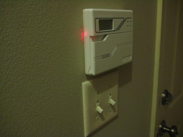 Garage Door Open Indicator Light