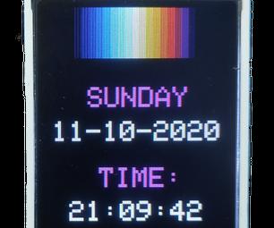RGB时钟教孩子们的时间