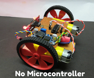IR Based Line Following Robot From Scratch [No Microcontroller]