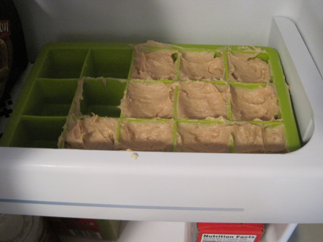 Pack Into Ice Trays and Freeze