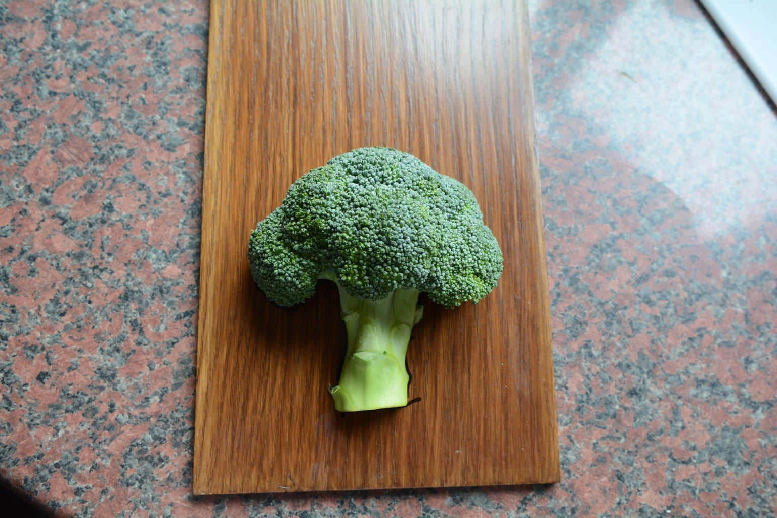 Preparing Broccoli