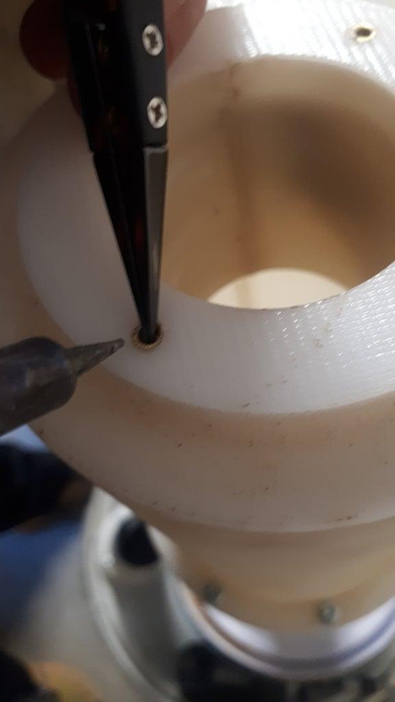 Colocar Los Insertos Roscados Por Calor