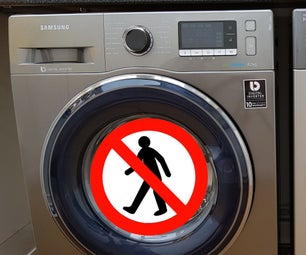 Novel Method to Stop a Washing Machine 'Walking'