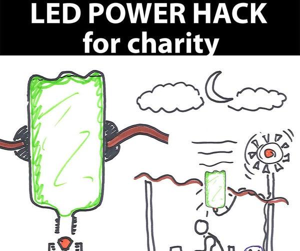 Off-the-Grid Lighting Solution (LED Moser Light Evolution)