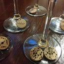 Molecule Wine Glass Charms