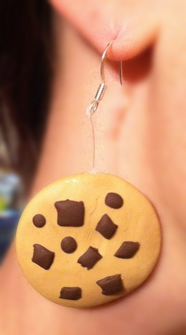 Making and Attaching Earrings (and Other Things) From Polymer Clay and Attaching to Hooks