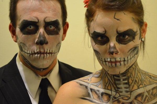 Skeleton Halloween Makeup