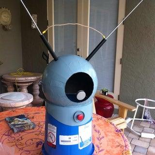 Robot Monster Space Helmet