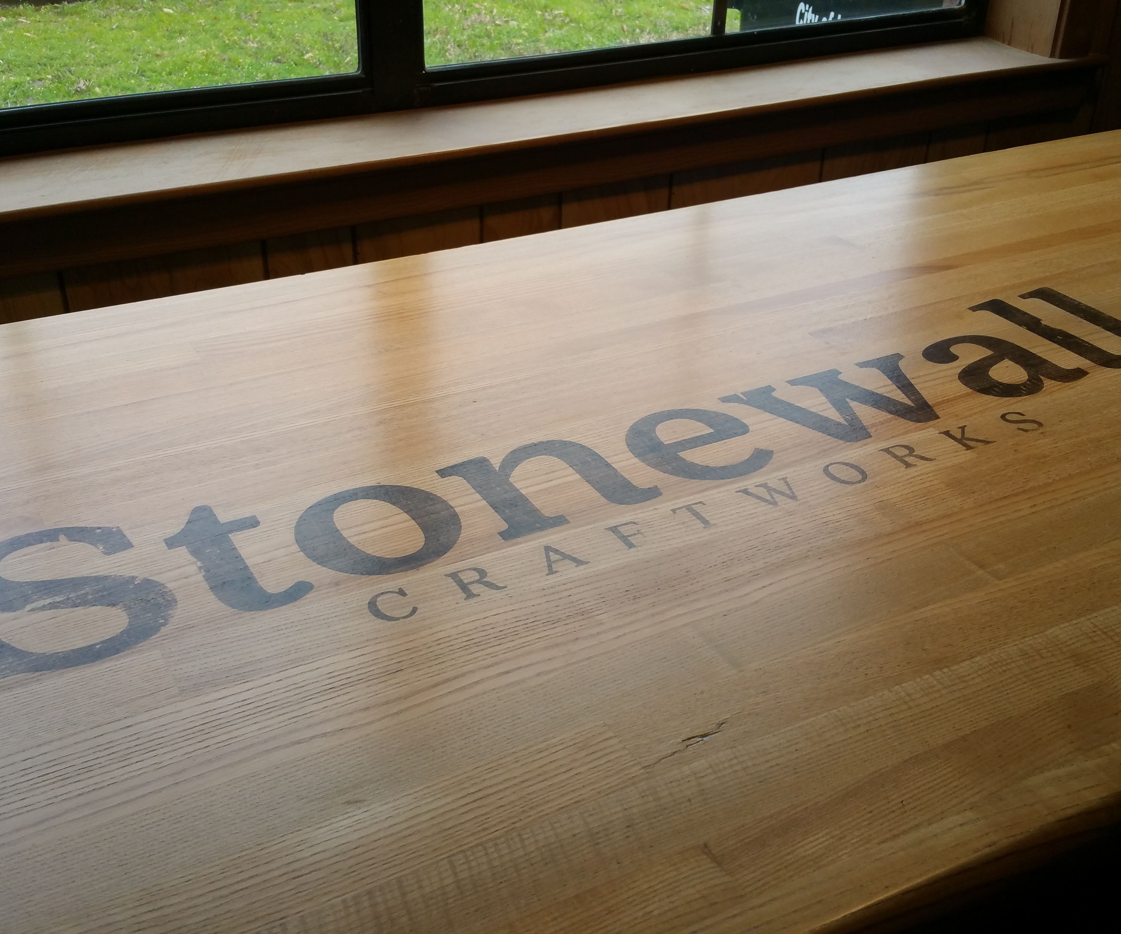 How to Refinish a Workbench Top... and Add a Logo