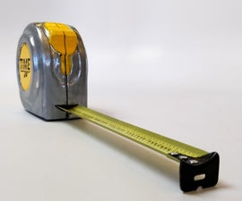Time Measure (Tape Measure Clock)