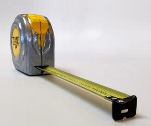 Time Measure (Tape Measure Clock)
