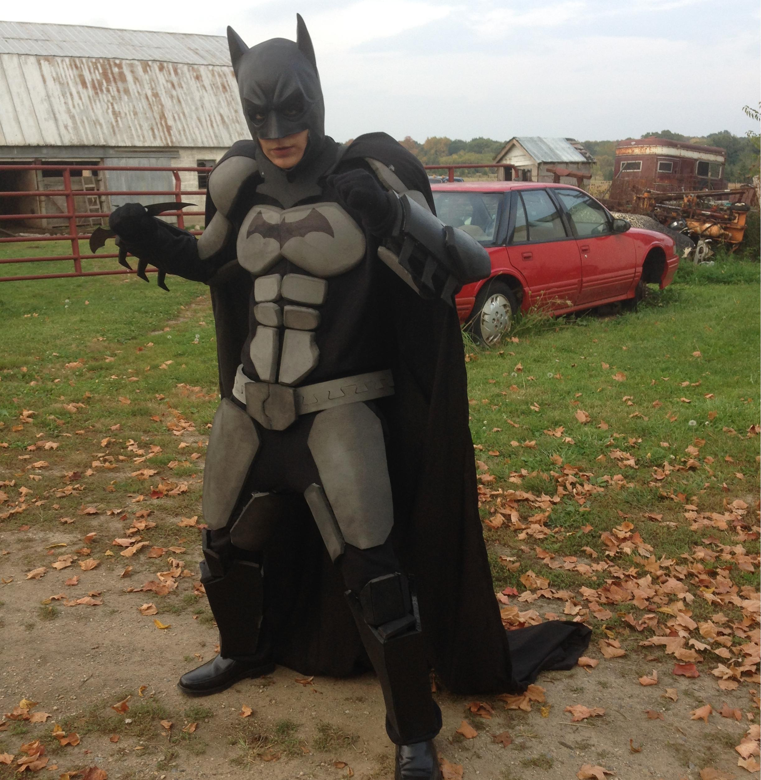 How To Make a Batman Costume (eva foam armor)