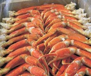 Grilling Shrimp Scampi and Snow Crab Legs