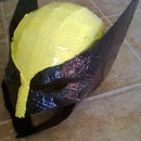 Last Minute Cardboard Wolverine Pepakura Mask