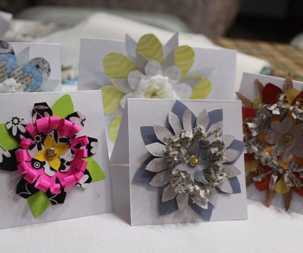 Shabby-chic Paper Flower