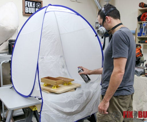 How to Make a $5 DIY Spray Booth Turntable