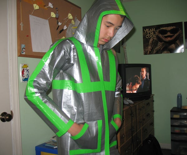 100% Authentic Duct Tape Hoodie (110+ Yards of Duct Tape)