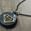 Steampunk Necklace From Old Pocket Watch