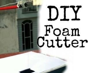 DIY Foam Cutter With Nichrome Wire    Thermacol Cutter