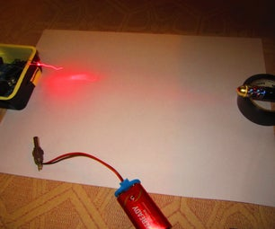 Laser Maze Security System