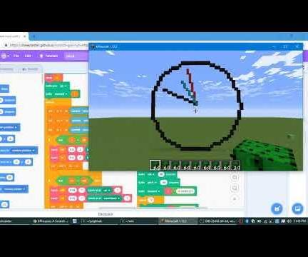 Coding in Minecraft With Scratch