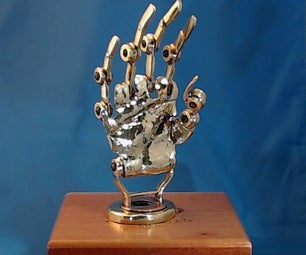 Steampunk Prosthetic Hand  for a Wounded Warrior Pt. 1 [Now More Pics]