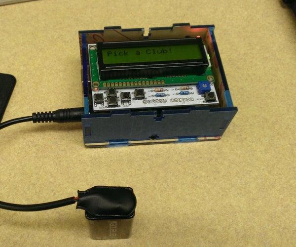 GPS Distance Calculator (for Golf)