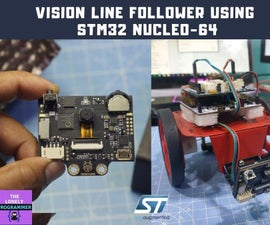 Vision Line Follower Using HuskyLens