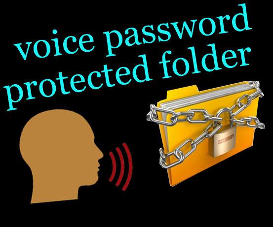 DIY Voice password protected folder