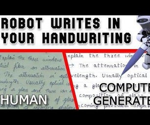 Homework Writing Robot With Python ( Python Program That Writes Assignment / Homework in Your Handwriting)